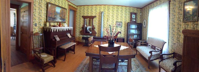 Back Parlor in the White house