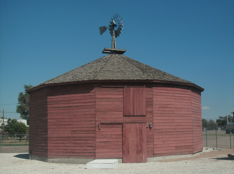 The Round Barn constructed 1908