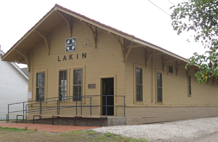 The Lakin Sante Fe Railroad Depot 1882