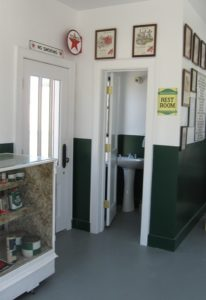 Inside the Deerfield Texaco Station